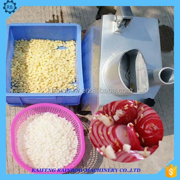 Good Feedback High Speed vegetable slicing machine Multifunction potato/carrot/onion/vegetable cutting machine for dice