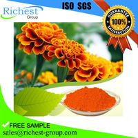 manufacture supply 100% natural marigold flower extract powder