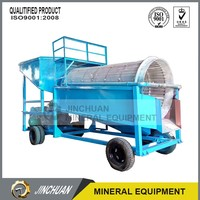 portable china new gold trommel plant screen machine