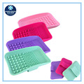 Amazon hot selling new design hot new products for 2016 silicone make up brush cleaner mat/cleaning pad