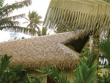 Synthetic plastic thatch roof with best price