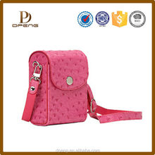 2015 Custom New arrival leather digital camera bag for samsung nx300
