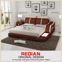 Good Quality Leather Bed