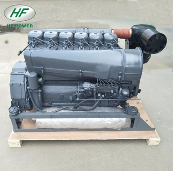 F6L912 deutz 912 air cooled 6 cylinder diesel engine