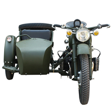Drum Brake motorcycle 750cc with side car