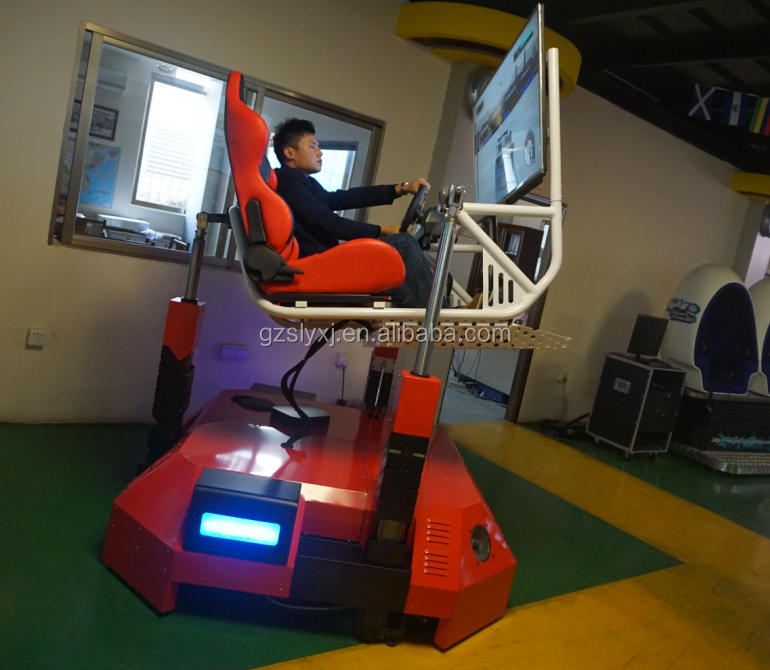2016 factory price 4d motion simulator 4d driving simulation