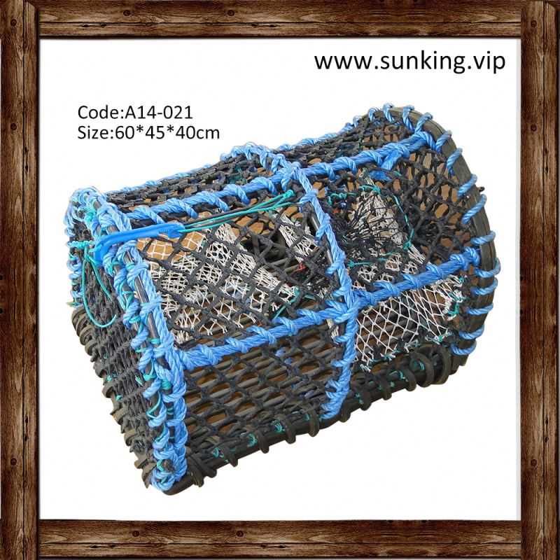 stainless steel lobster trap hexagonal benificial crab pot fish traps for sale wire netting