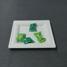"8"" Square Plate, biodegradable, bagasse, disposable eco-friendly tableware"