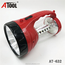 LED torch Plastic rechargeable Portable Camping Lantern