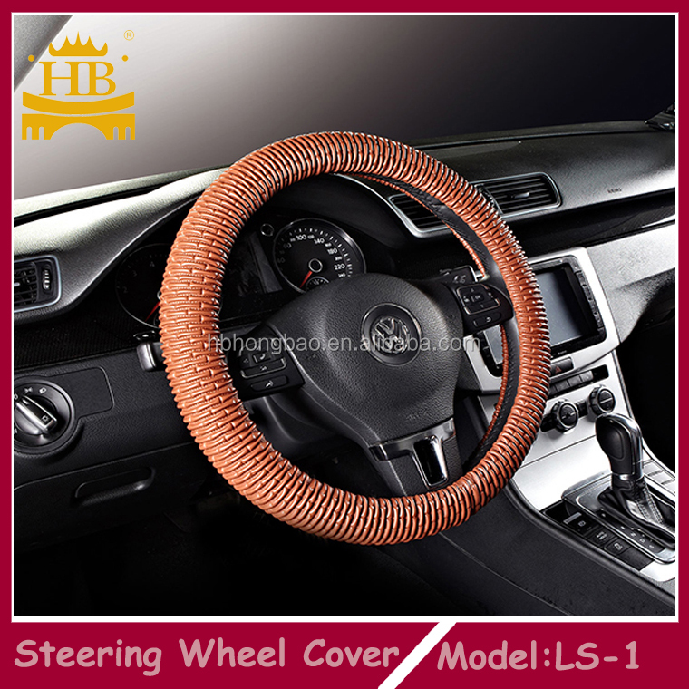 Hot selling steering wheel cover pu material