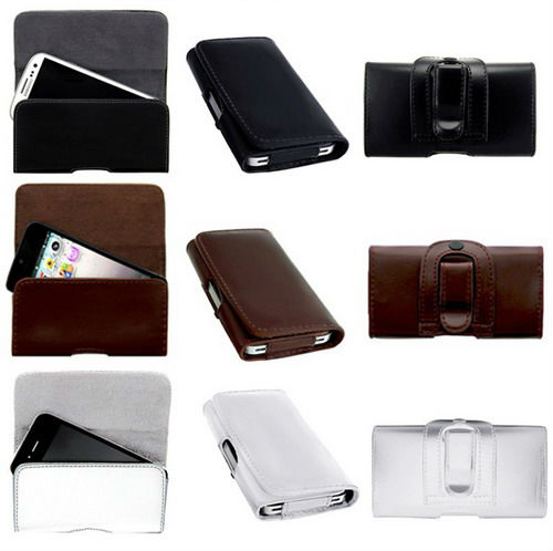 LAUDTEC New Arrival Belt Loop PU Leather Pouch Case Cover Holster Pocket for Nokia Lumia 625