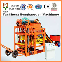 small brick making machine industrial project for QTJ4-28 cement manufacturing plant