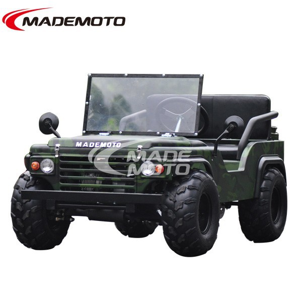 CE Approved 150cc Auto Cluth Mini Jeep Willys for Sale (MR1101)