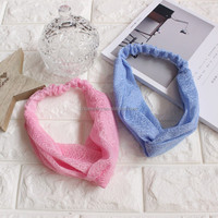 Smart Lace Women Bathing Headband Snood Soprt/Yoga Hairband Multifunctional Hairlace Elastic Wicking Band