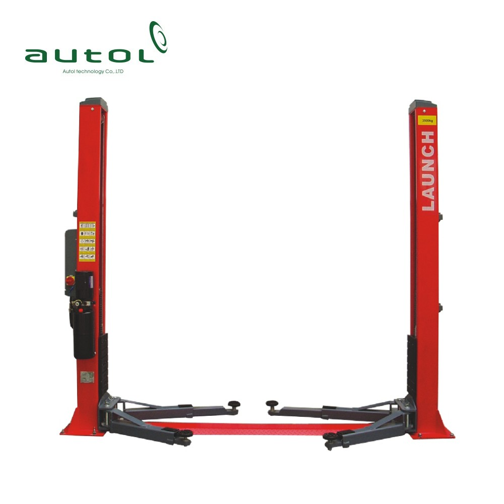 Original LAUNCH TLT240SB 2 post car lift 4 ton car lifter