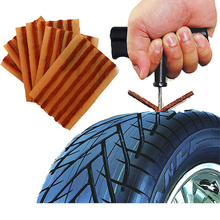 Environmental protection material making brown rubber 200*6mm tyre repair products