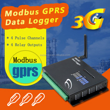 RS485 modbus temperature controller 3g data logger electricity for power plant