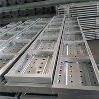 functional pre-galvanized 210mmx45mm steel deck