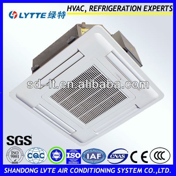 High Efficiency Air Conditioner Ceiling Cassette Fan Coil Unit (2pipes,2rows)