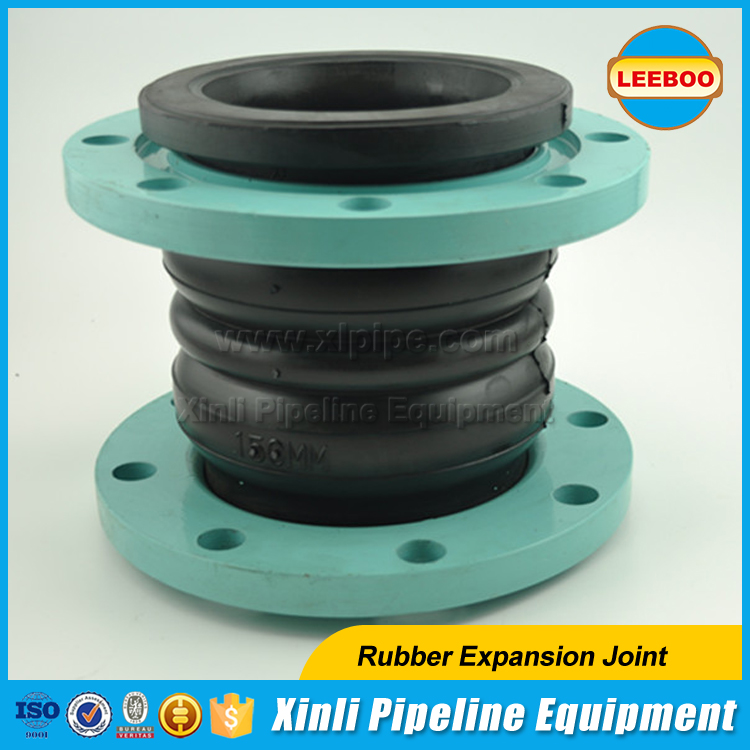 Accordion silicone rubber bellows joint