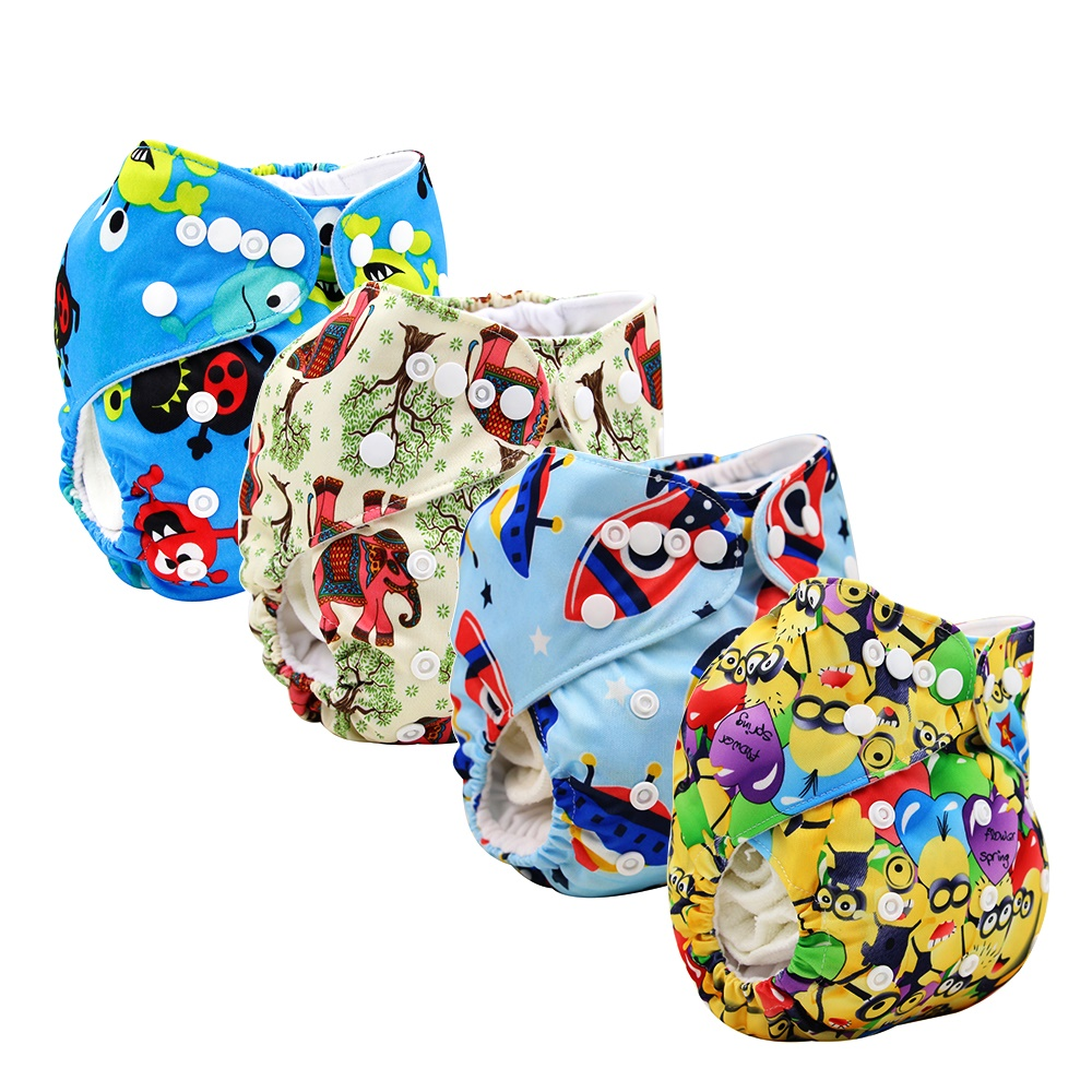 Eco Friendly Cloth Diaper Reusable Baby Cloth Diapers For Good Care