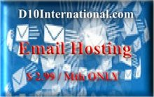 Email Hosting @ US$2.99 / Month ONLY !
