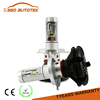 2PCS Newest H4 H7 HB3 Hi/Lo Led Chip High Power 40W 3800lm*2 6000K Strong Bright Car Headlight Fog Light Conversion Kit