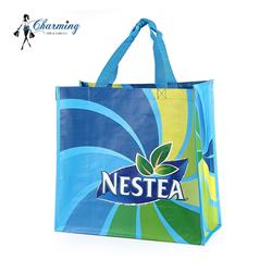 Factory supply multi color promotional gift polyester mesh non woven bag