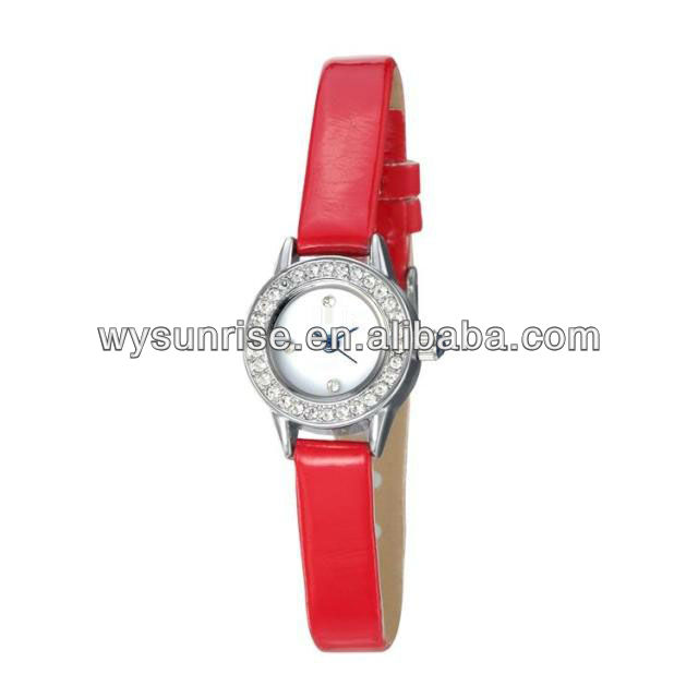 2014 sale newest waterproof magnetic fashion korea mini lady watch brand made in china