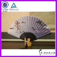 abanico in bamboo ,factory direct sale cheap fan