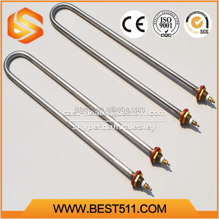Fast U type electric iron Tubular heater