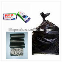 Hdpe high quality pet garbage bags on roll