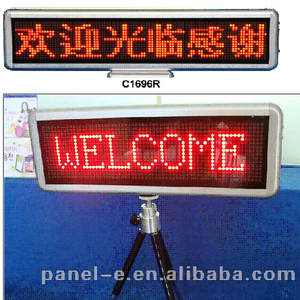 LED Digital welcome board for meeting ,led moving sign for airport ,led screen display(Direct Manufacturer)
