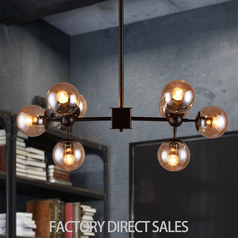 Nordic Restaurant Bar Art Lighting European Creation Living Room Bedroom Clothing Room Magic beans pendant lamp