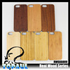 Phone Accessory Real Wood Phone Cover for iPhone 6 With Walnut/Cherry/Bamboo Popular Solid Wood