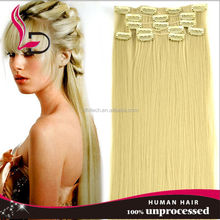 Chinese new year promotion! brazilian indian gray remy hair extensions