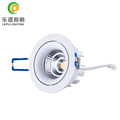 warm white dimmable 2700k 3000k 8w quality cob led downlight with 75mm cut hole cri>90 hot selling