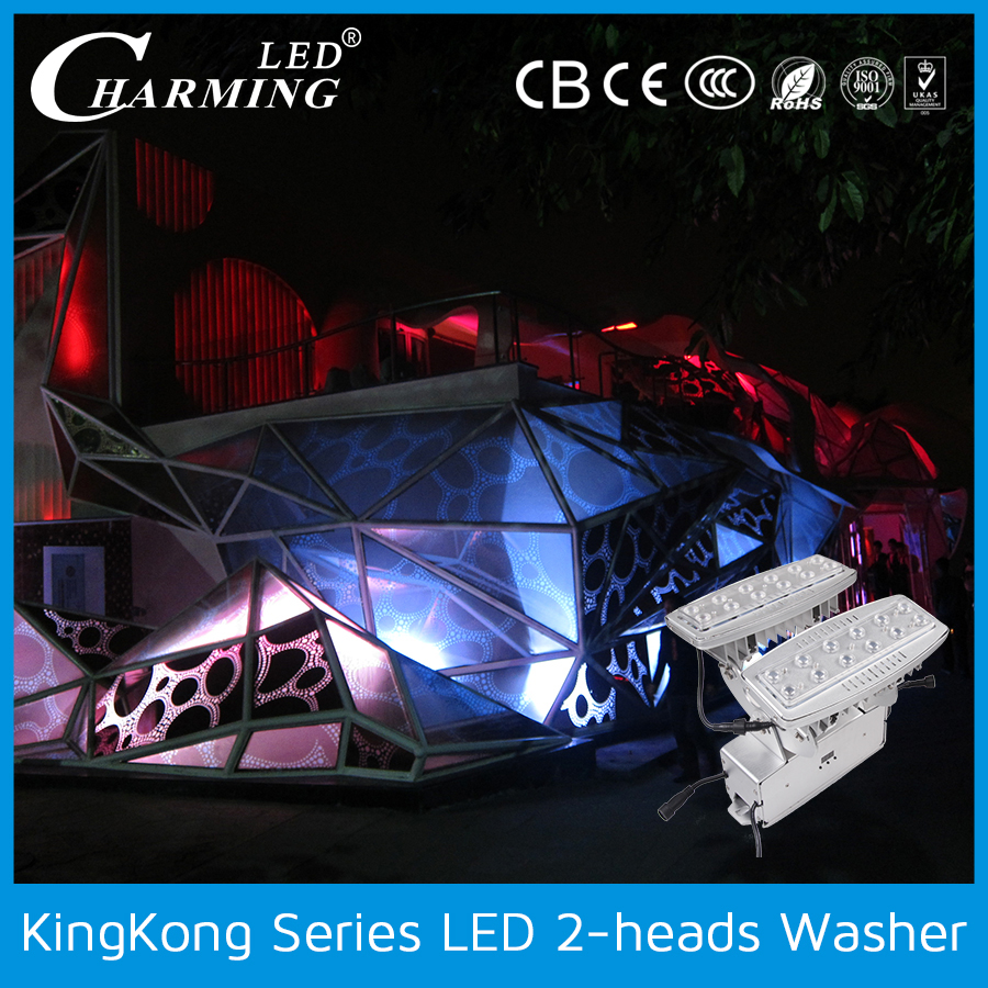 high power 32w waterproof rgb led wall washer