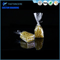 china supply cellophane bags with header Beverage
