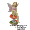 Little Girl Garden Statues Polyresin Figurine Garden Decoration Outdoor