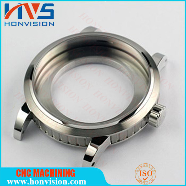 High Precision cnc machining stainless steel watch case eta 6497