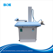Cheap price high quality garment press ironing machines for suits,clothes with steam suction vacuum