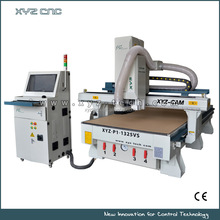 CNC Router with XVS Automatic Recognition system camera for printing industry