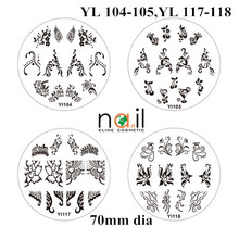 YL series 70mm dia stamping nail art konad
