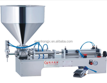 paste full pneumatic semi-automatic filling machine