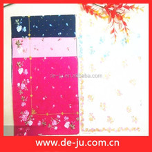 Embroidered Printing Pattern Promotion Handkerchief Folding