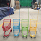 26L america style child kids metal shopping trolley children size trolley cart