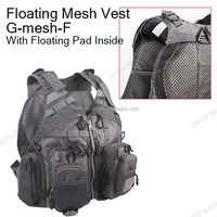 chinese good design fishing sports Floating fly fishing Mesh Vest