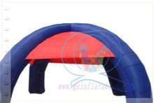 2012(Qi Ling) Beatiful color promotion design inflatable arch tent