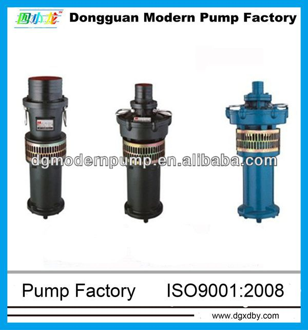 QY series submerged pump,three-phase asynchronous motor,whole seal submersible pump